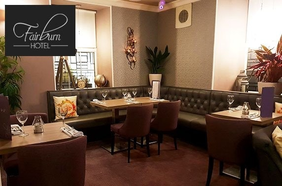 The Fairburn Hotel dining - valid 7 days