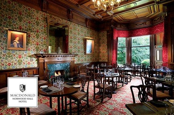 4* Norwood Hall afternoon tea