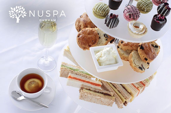 Spa day & optional afternoon tea, NUSPA Durham in 4* Radisson Blu