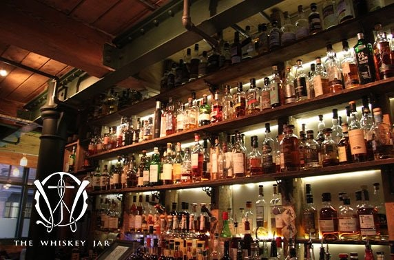 The Whiskey Jar tastings, Northern Quarter