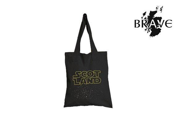 Scottish Galaxy tote bag