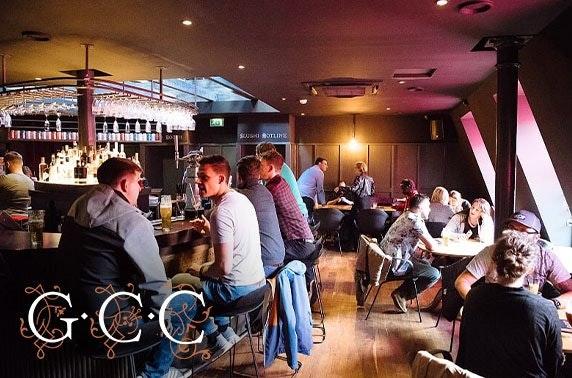 Glasgow Cocktail Club bespoke masterclass