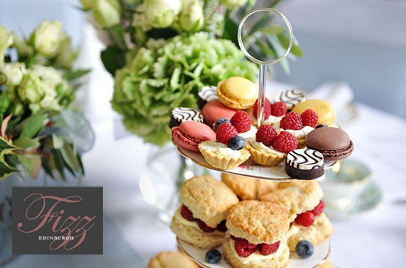 Fizz Bar cream or afternoon tea & Prosecco