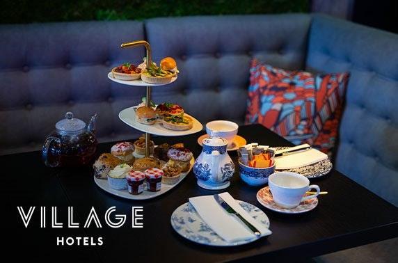 Afternoon tea by GBBO's Candice Brown, 4* Village Hotel Edinburgh