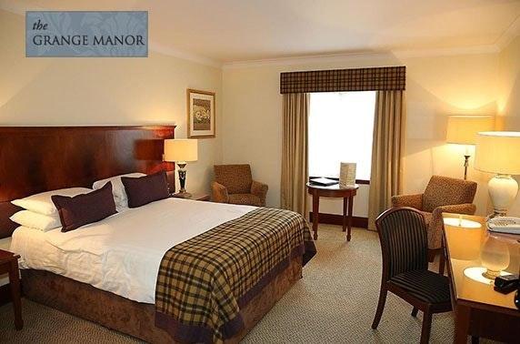4* Grange Manor Hotel tribute night & optional stay