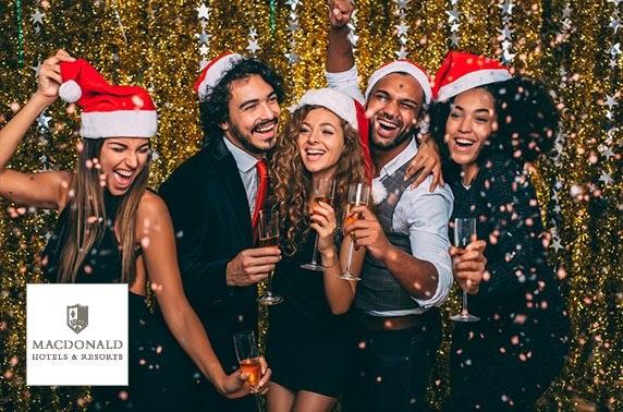 Christmas party night, 4* Macdonald Inchyra Hotel & Spa
