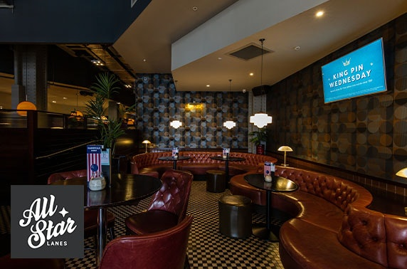 Private karaoke & Prosecco at All Star Lanes