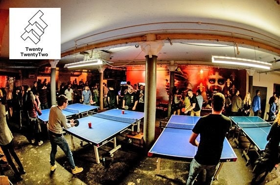 Ping pong & drinks at Twenty Twenty Two - from £5pp