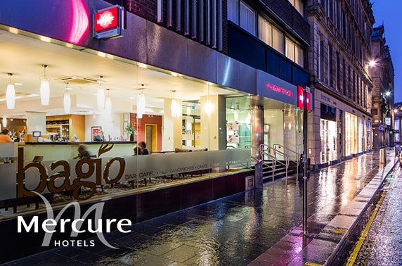 Mercure Glasgow stay, Merchant City - £69