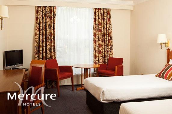 4* Mercure York Fairfield Manor Hotel stay