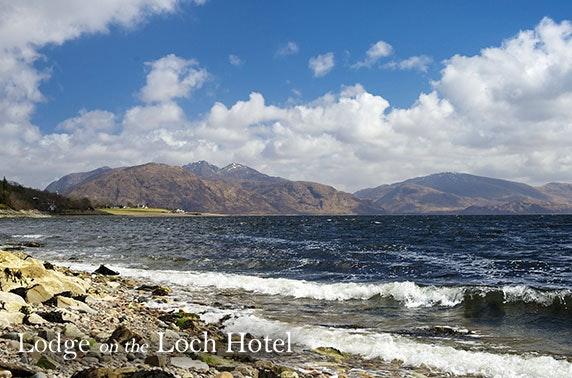 Lodge on the Loch break