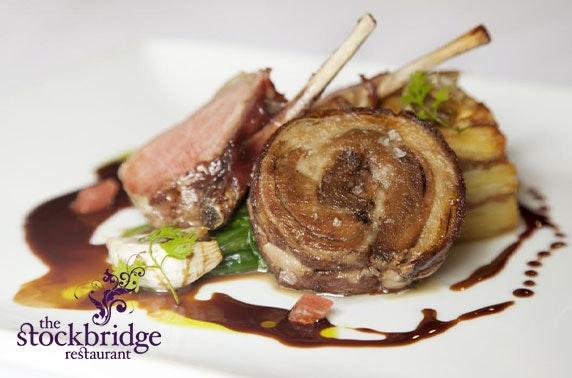 2 AA Rosette-awarded The Stockbridge Restaurant fine dining