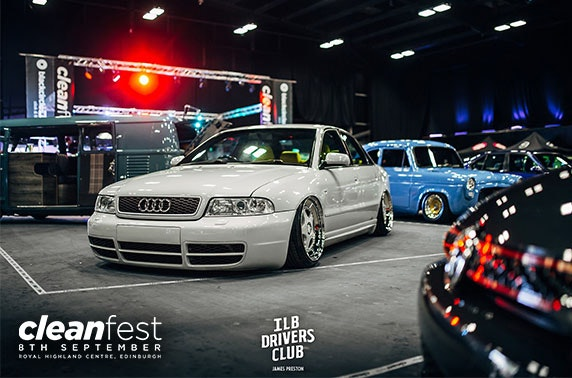 Car festival, Royal Highland Centre