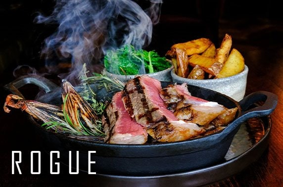 3 course steak dining experience at Rogue, St Andrews