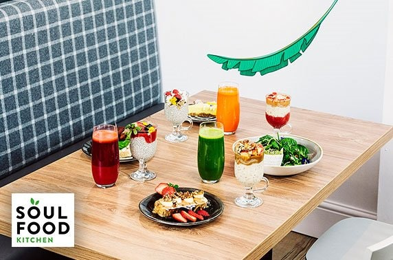 Vegan dining at Soul Food Kitchen, Finnieston