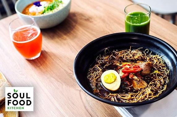 Soul Food Kitchen vegan dining, Finnieston