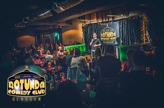 Rotunda Comedy Club tickets – from £5pp!