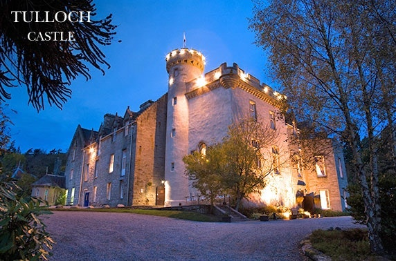 4* Tulloch Castle Hotel stay