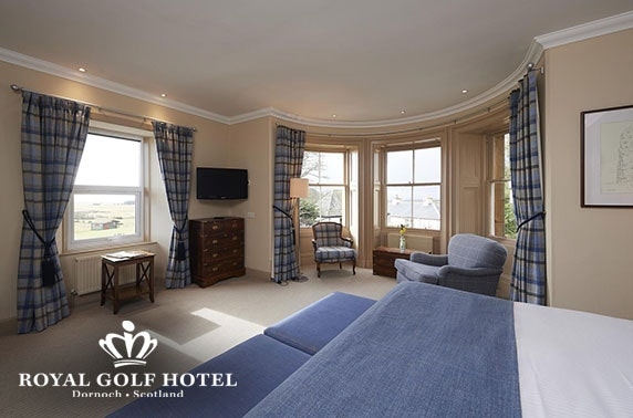 Royal Golf Hotel stay, Dornoch