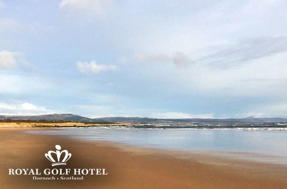 Royal Golf Hotel stay, Dornoch