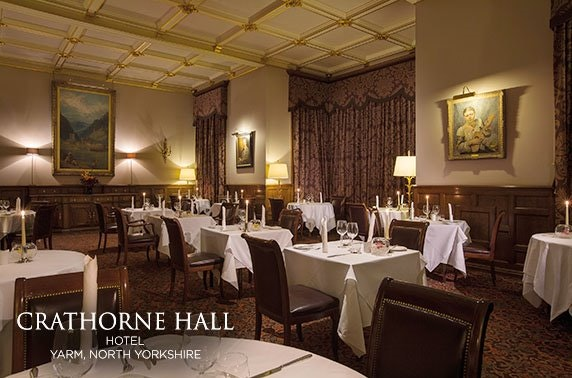 4* Crathorne Hall Hotel, Yorkshire
