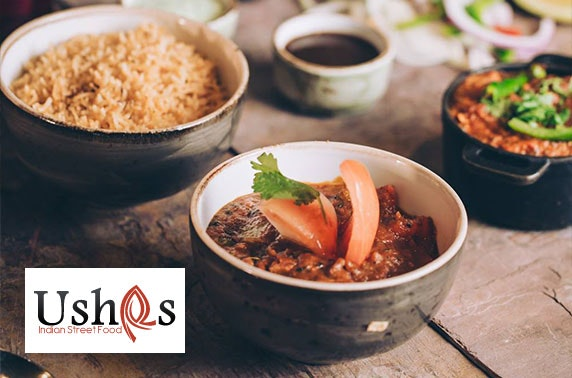 Award-winning Usha's Indian street food dining