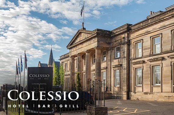 Sunday lunch with wine at Hotel Colessio, Stirling