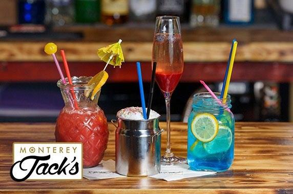 Monterey Jack's burgers & drinks – Airdrie & Paisley venues