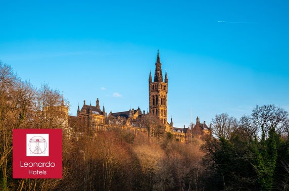 Glasgow West End stay with afternoon tea - £69