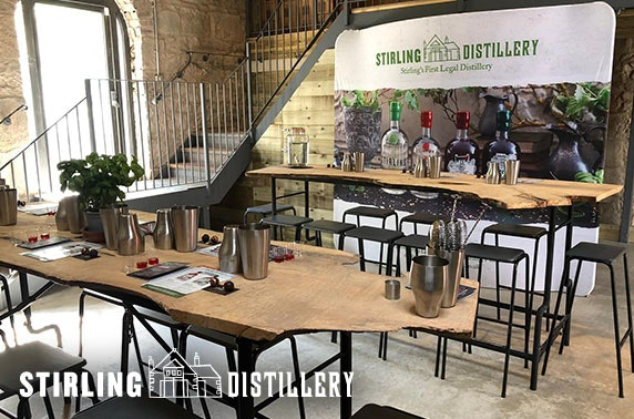 Gin tour and tasting, Stirling Distillery