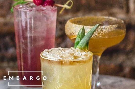 Embargo cocktails, West End