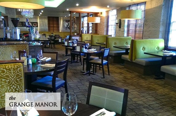 4* Grange Manor Hotel dining