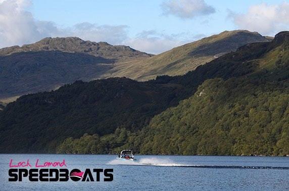 Loch Lomond speedboat trip