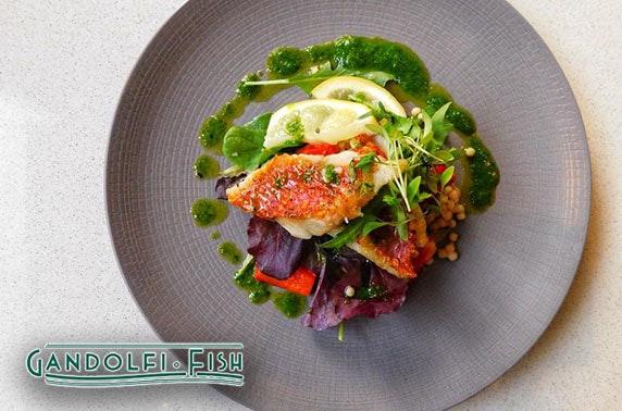 Gandolfi Fish dining - valid 7 days