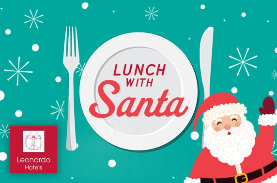 Lunch with Santa at Leonardo Hotel, Edinburgh