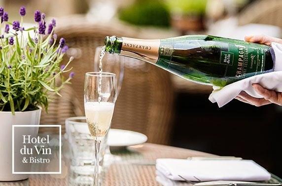 AA-Rosette Champagne dining, 4* Hotel du Vin Edinburgh