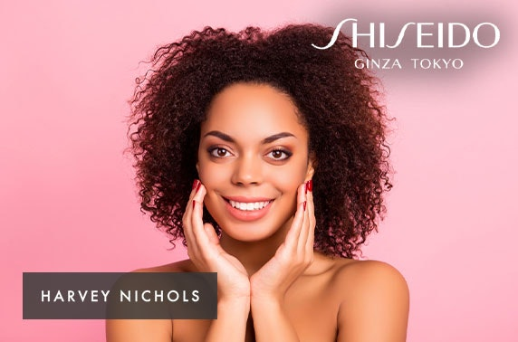 Shiseido bespoke skin consultation & Prosecco - £10