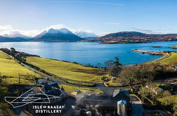 5* Isle of Raasay Distillery stay