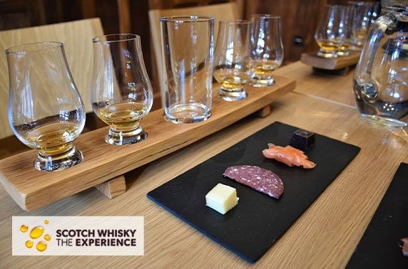 Tasting Tales experience at 5* Scotch Whisky Experience, Royal Mile
