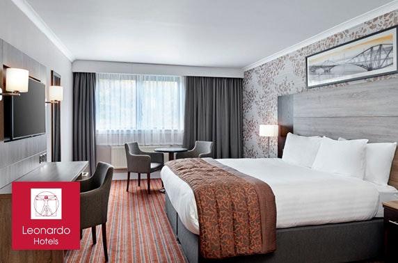 Leonardo Hotel stay, Murrayfield