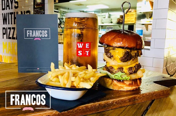 Francos dining, West End - from £5pp