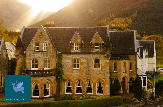 Glencoe weekend stay