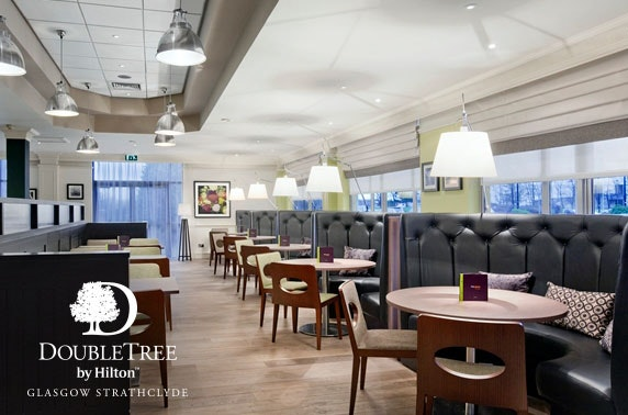Afternoon tea at DoubleTree by Hilton Strathclyde