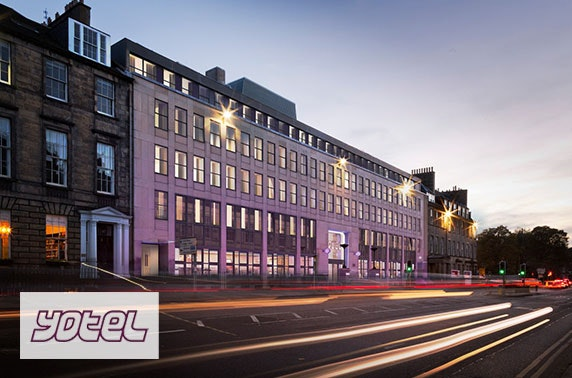 YOTEL Edinburgh Sunday stay - from £55