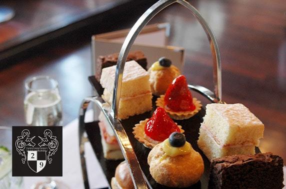 Afternoon tea & optional drinks, Royal Exchange Sq