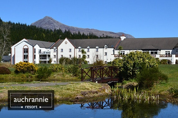 Multi award-winning 4* Auchrannie stay