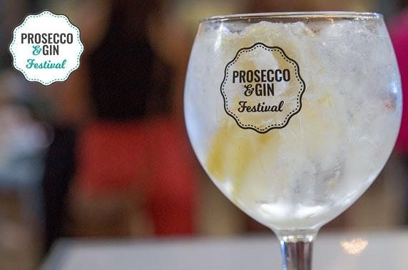 Glasgow gin & Prosecco Festival