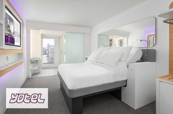 YOTEL Edinburgh stay - valid 7 days until March 2021