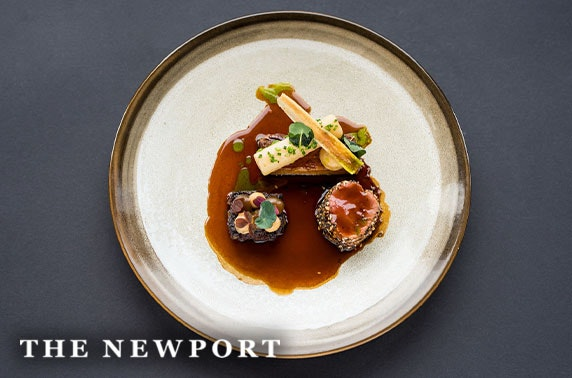 Tasting menu at Michelin-recommended The Newport