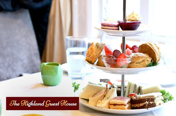 Callander getaway with afternoon tea